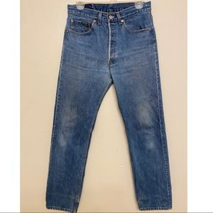 Levis 501xx Shrink to Fit Jeans